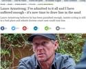 Armstrong pede trégua e teme falência em meio a US$ 100 mi em processos