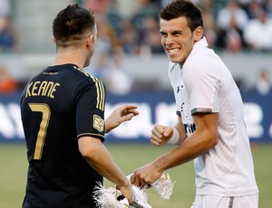 gareth bale totenham robbie keane los angeles galaxy (Foto: Ag&#234;ncia Reuters)