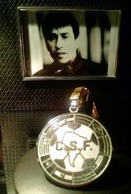 Roberto Rojas - medalha de prata da Copa América 1987 (Foto: arquivo pessoal)