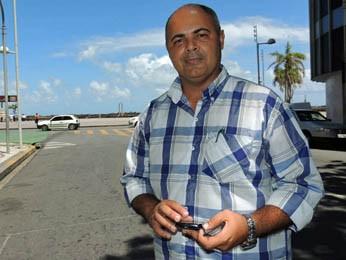 Alexandre Pereira aprovou a nova conexão (Foto: Katherine Coutinho / G1)