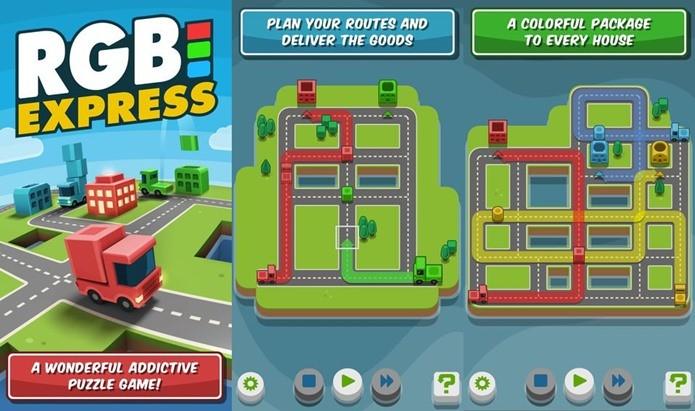 Puzzle divertida é na realidade uma brincadeira com o sistema de cores RGB (Foto: Divulgação)