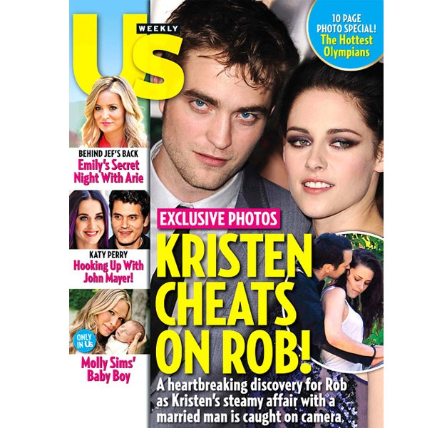 Capa da US Weekly (Foto: Reprodu&#231;&#227;o)