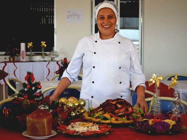 Chef de cozinha dá dicas para ceia simples e saborosa (Foto: Joelma Gonçalves/ G1 SE)
