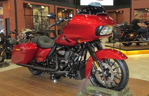 Harley Davidson Road Glide (Foto: Roberto Dutra (O Globo))