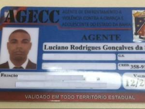 Suspeito atua como agente de enfrentamento a violência contra crianças e adolescentes (Foto: Divulgação/Polícia Civil)
