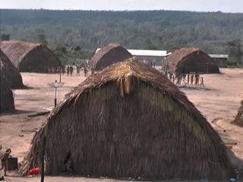 Índios da aldeia Halataikwa, em Juína (Foto: Reprodução/TVCA)