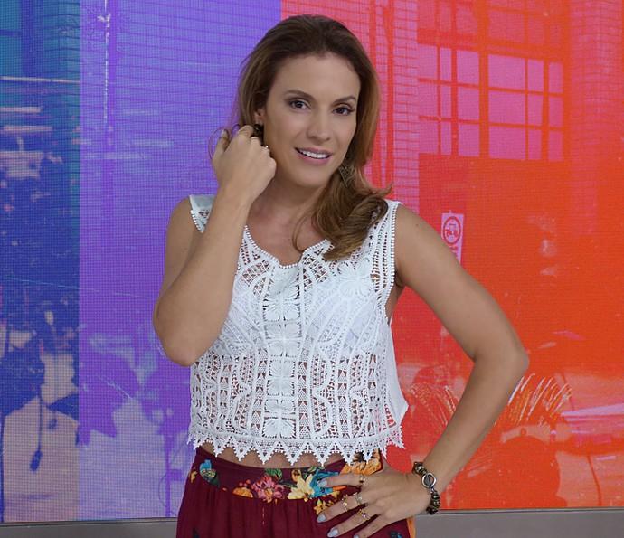Maíra Charken adora anéis de falange e pulseiras (Foto: Brunella Menezes / Gshow)