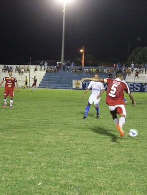 Parnahyba x River-PI pela 14ª rodada do Campeonato Piauiense (Foto: Josiel Martins)