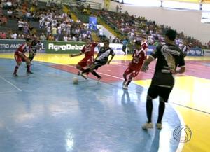 Copa Centro América de Futsal 2013 (Foto: Reprodução/TVCA)