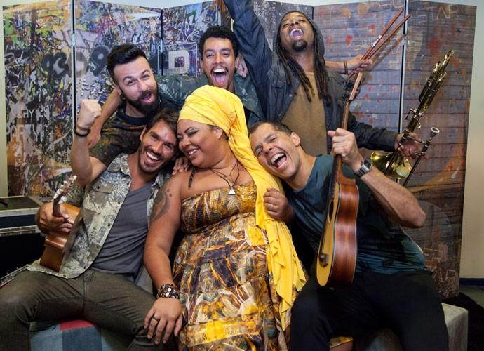 Banda Devir segue para o Top 7 (Foto: Fabiano Battaglin/Gshow)