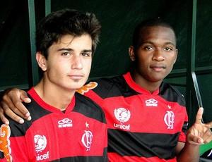 Mattheus e Samir Flamengo (Foto: Arquivo Pessoal)