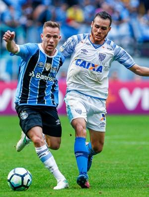 Arthur Grêmio x Avaí (Foto: Lucas Uebel/Divulgação Grêmio)