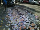 DMLU recolhe 5,7  mil quilos na capital ( Cristine Gallisa/RBS TV)