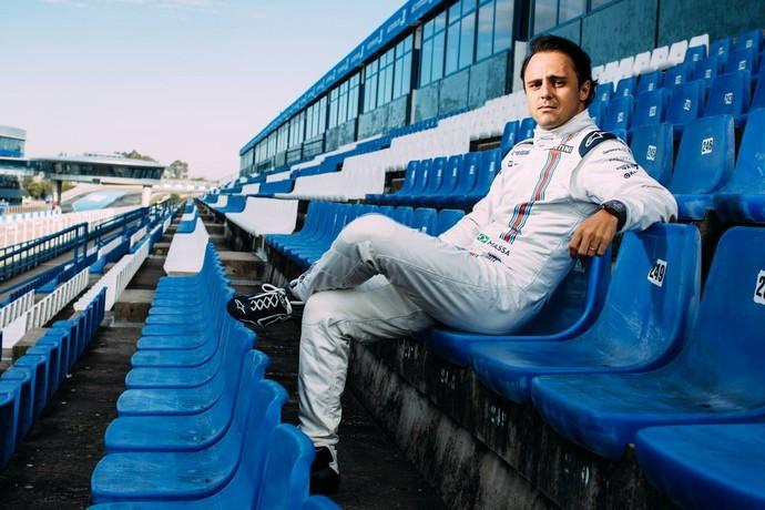 Em 2015, brasileiro Felipe Massa disputará sua segunda temporada pela escuderia Williams (Foto: Divulgação)