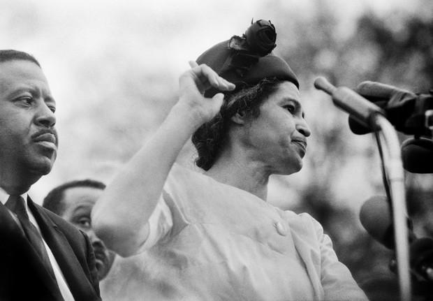 Rosa Parks  (Foto: Agência Getty Images)