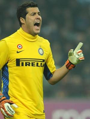 Julio César goleiro Inter de Milão (Foto: Getty Images)
