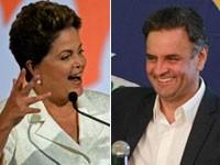 Dilma e Aécio (Foto: Evaristo Sá/AFP; Evelson de Freitas/Estadão Conteúdo))