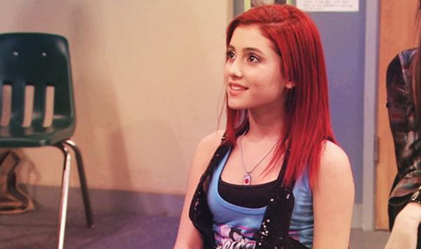 A cantora Ariana Grande no início de sua carreira (Foto: Reprodução)