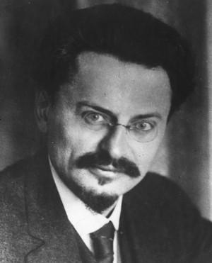 Trotsky, comandante do Exército Vermelho (Foto: Wikimedia Commons)