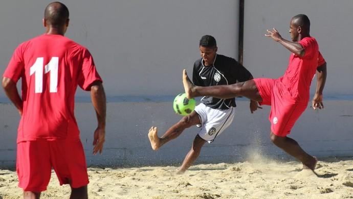 Dino Tambaú, futebol de areia (Foto: Divulgação / CBBS)