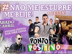 Nome de festa em Araraquara gerou polêmica nas redes sociais (Foto: Reprodução/Facebook)