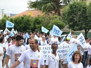 Onze cidades da Serra realizam a Caminhada pela Paz nesta sexta-feira (Foto: Divulgação/Caminhada pela Paz)