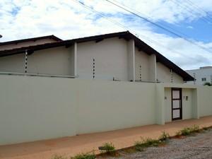 Nova residência oficial fica no bairro Cabralzinho, na Zona Oeste de Macapá (Foto: Abinoan Santiago/G1)