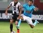 """Depois de sonho, Thiago Maia analisa gol na Libertadores: """"Soltei um turbo"""""""