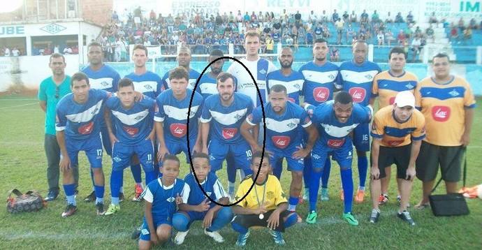 bernardo ribeiro, friburguense, morreu durante jogo do Ideal E.C. (Foto: Divulgação / Ideal E.C.)