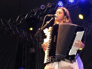 Lucy Alves foi participante da nova temporada do The Voice Brasil (Foto: Catarina Costa/G1)