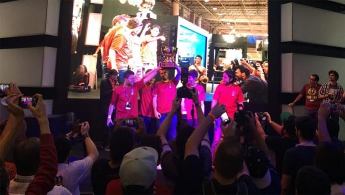 Equipe We Love Bacon foi a vencedora de torneio de Smite no Brasil (Foto: Divulgação)