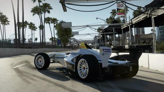 Carro da Formula E está disponível de graça para Forza 5 (Foto: Divulgação)