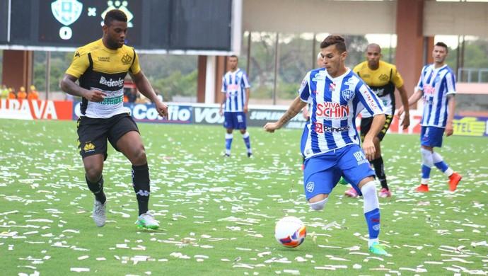 Paysandu x Criciúma - Série B 2015 - Welinton Junior  (Foto: Fernando Torres/Ascom Paysandu)