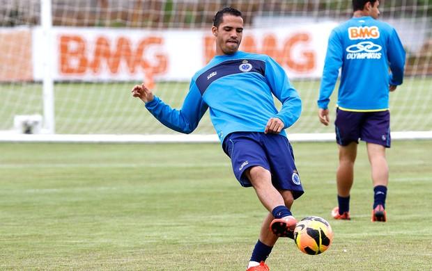 Anselmo Ramon treino Cruzeiro (Foto: Washington Alves / Vipcomm)