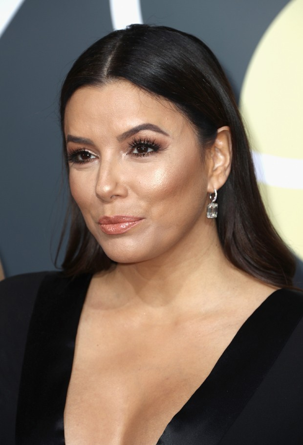 BEVERLY HILLS, CA - JANUARY 07:  Eva Longoria attends The 75th Annual Golden Globe Awards at The Beverly Hilton Hotel on January 7, 2018 in Beverly Hills, California.  (Photo by Frederick M. Brown/Getty Images) (Foto: Getty Images)
