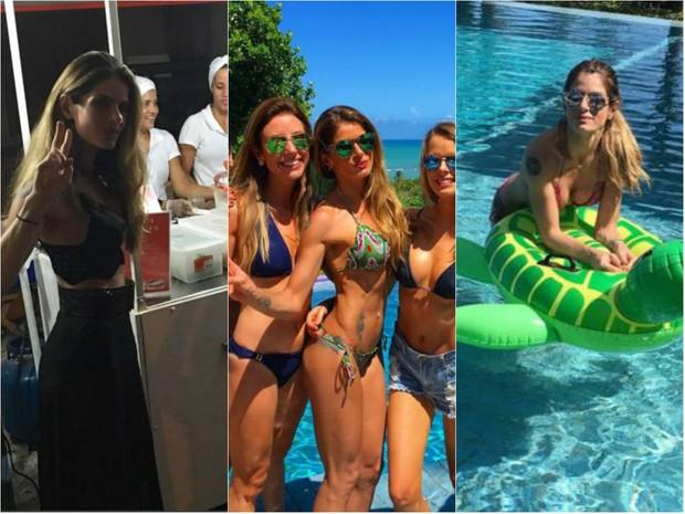 Carol Magalhães curte verão na Bahia (Foto: Reprodução do Instagram)