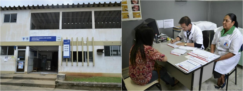 Atendimento foi realizado no distrito de Pacotuba, distrito de Cachoeiro de Itapemirim, no Espírito Santo (Foto: Viviane Machado/ G1)