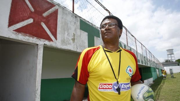 Samuel Cândido é o atual treinador da Tuna Luso no Parazão (Foto: Igor Mota / Amazônia Hoje)