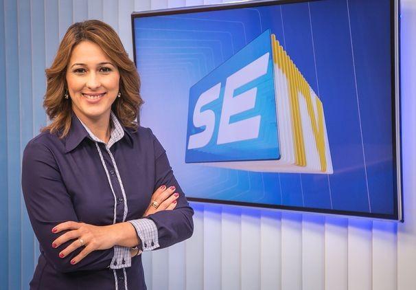 Susane Vidal passa a dar 'boa noite' todos os dias, nesta segunda-feira (Foto: Divulgação/TV Sergipe)