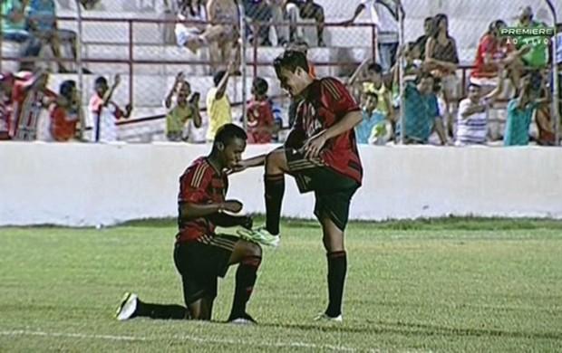 Salgueiro x Sport (Foto: Reprodução/Premiere FC)