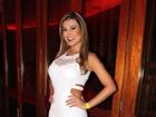 Andressa Urach, vice Miss Bumbum 2012, deixa júri do concurso