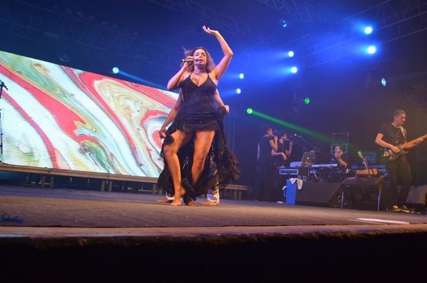 Daniela Mercury se apresenta com show em Recife (Foto: Felipe Souto Maior / AgNews)