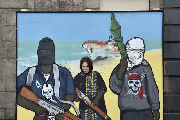 Dismaland, parque temático sombrio criado por Banksy na Inglaterra (Foto: Reuters/Suzanne Plunkett)