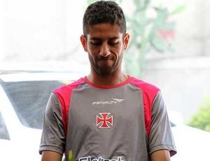 Thiago Feltri no treino do Vasco (Foto: Marcelo Sadio/Site Oficial Vasco da Gama)