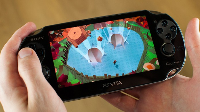 Poucos jogos utilizam os recursos mirabolantes do PS Vita, como Tearaway (Foto: officialplaystationmagazine.co.uk)