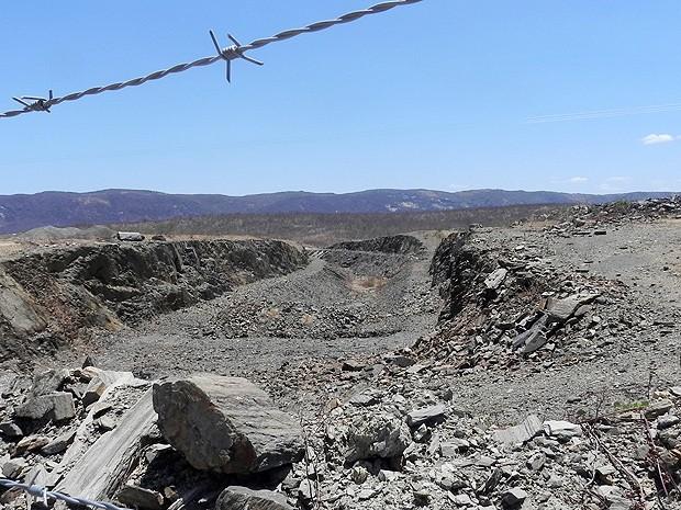 Maior túnel de abastecimento hídrico na América Latina está com obras paradas desde junho (Foto: Taiguara Rangel/G1)