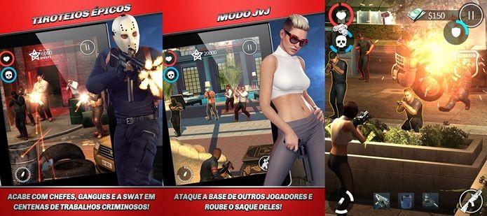 Game de tiro com a participação de Mile Cyrus (Foto: Divulgação)
