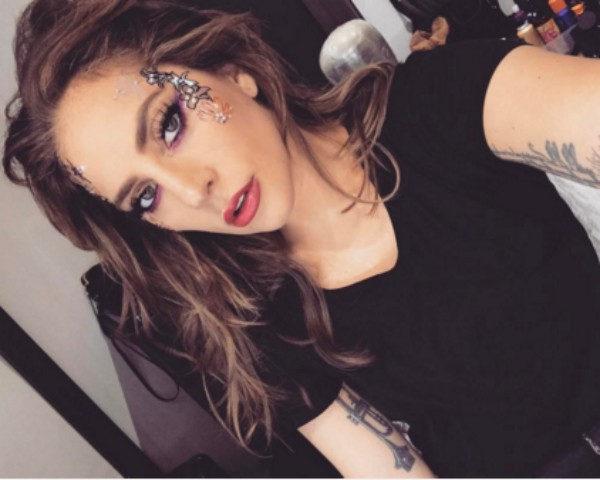 Lady Gaga pronta para se apresentar no Coachella (Foto: Rep)