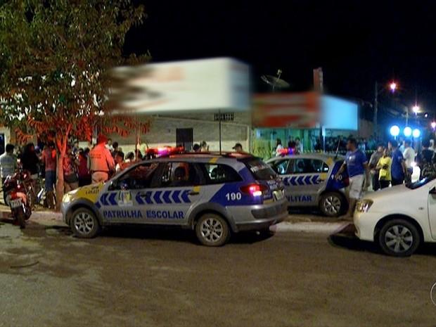 Jovem morre após ser baleado em Palmas (Foto: Reprodução/TV Anhanguera)