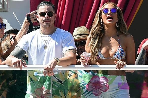 Casper Smart e Jennifer Lopez (Foto: Getty Images)